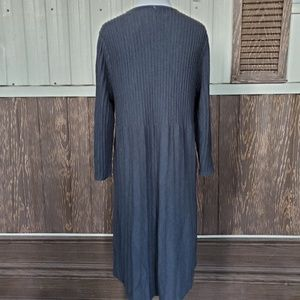 eileen fisher Dresses - Eileen Fisher Washable Wool Scoop-Neck Dress sz L